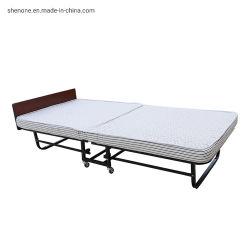 Shenone 1633 Schaumgummi-super einzelne faltende Betten Prüfungs-Hotel-draußen kampierende Gastkarton gepackte feuerfester des Portable-8cm für Erwachsene