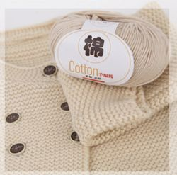 아기 의복을%s 면 털실 면 크로셰 뜨개질 스레드