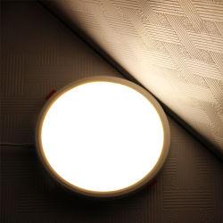غرفة سيفا ذات حجم صغير قابلة للضبط، إضاءة منزلية داخلية وإضاءة سقف مستديرة، لوحة LED بحجم حفرة مضبوطة، آلة تثبيت مصباح LED بقوة 6 واط، 15 واط، 20 واط، مصابيح إنارة منزولة 6000K