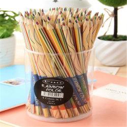 4 colores llevar lápiz de color lápices de Madera Natural