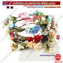 La novia de la corona de flores a las mujeres de la banda de pelo diadema de flores de boda Accesorios Chica (B6032)