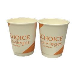 240ml 8 oz copos de papel revestido a PE descartáveis copos de papel