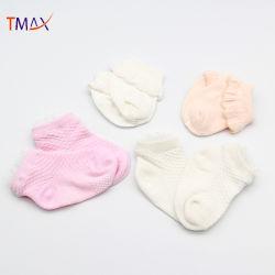 Crianças moda Bonitinha Algodão meias de renda do bebé 0-36 meses para as meninas