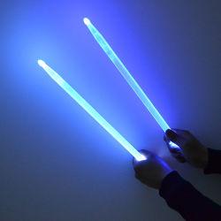 Feitos de plástico Linli ilumina o tambor de LED piscando Stick para concertos
