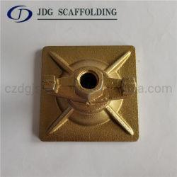 Encofrado de acero galvanizado con tuerca de mariposa giratorio de la placa de anclaje de 15/17mm