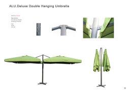 حديقة الإعلانات الخارجية مظلة الشاطئ مظلة الشاطئ بالخارج