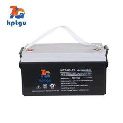 Нормальный Valve-Operated AGM батарей свинцово-кислотного аккумулятора 12V65Ah Батарея ИБП с хорошим сопротивление при зарядке аккумуляторной батареи