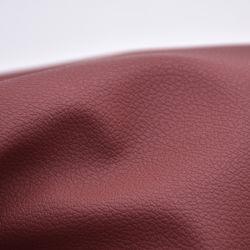 Afgewerkt ecologisch siliconenleer rubber PU-leer voor bank/stoel
