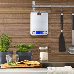 Digital-NahrungsmittelEdelstahl wiegen Schuppe der Timer-elektronische Küche-5kg