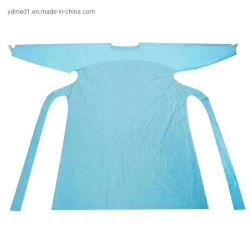 Suministro de fábrica barata vestido/Traje desechable aislamiento/vestido/paños