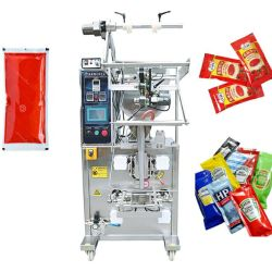 Sopa automático miel ensalada de pasta de tomate ketchup de atasco de máquinas de envasado y sellado de salsa Fiiling Máquina Máquina de embalaje saquito.