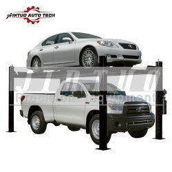 Dubbele parkeergaragelift voor vierkoloms parkeersysteem voor 2 Auto