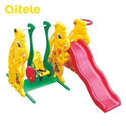 Piscina Kids Coelho deslize brinquedos de plástico/Playsets (PT-034)