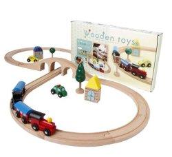 Il giocattolo del bambino di puzzle del giocattolo del vagonetto scherza la formazione dell'intellettuale di DIY