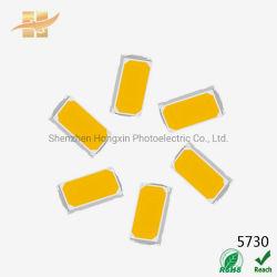 تم صنع شريحة LED من نوع Hongxin 5630 5730 0.5 واط CRI 90 SMD في مصنع الصين