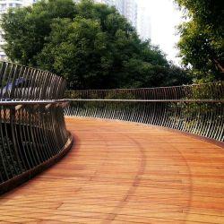 Horizontaal samengeperste Bamboo-vloer voor binnen/massief parket
