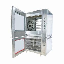 Forno rotativo elettrico commerciale del Rotisserie del pollo degli apparecchi di cucina di aria calda di versione meccanica di lusso di circolazione