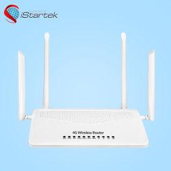 SIMのカードスロットが付いているLteサポートB28 802.11AC Simcard 50m WiFi範囲無線4G VoIPのルーター