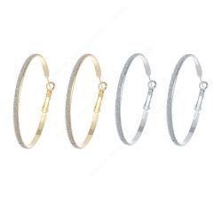 方法宝石類の簡単なきらめきのペーパー鉄のたがのイヤリング