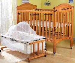 Juniors mecedora de madera de alta calidad de dormir Bebé Cuna convertible/Madera Cuna cama