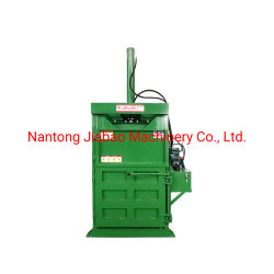 Marca Jewel Carton prima de alta qualidade, Máquina de enfardamento para embalagem de resíduos de papel/caixa de papelão/Caixa de Papelão Ondulado/resíduos de materiais plásticos para descarga de resíduos Industries MARCAÇÃO