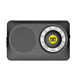De draagbare Gele Radio van de Gift van de Kwaliteit van de Familie van de hoog-Gevoeligheid FM/Am