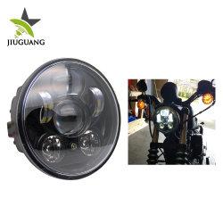 Commerce de gros DOT approuvé 5,75 pouce de haut de route/croisement 50W/30W de surpasser les lampes des projecteurs à LED de halo pour Harley