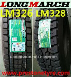 China Qualidade superior a TBR Longmarch/Roadlux caminhão marca pneu radial/pneu 305/70r19,5 12R22.5 13R22.5 275/70R22.5 295/60R22.5 295/80R22.5 315/60R22.5 LM326 LM328
