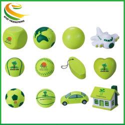 Balle en mousse PU souligner ballon de soccer boule de mousse en caoutchouc