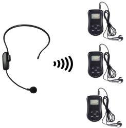 Portable et collier émetteur de radio FM avec microphone