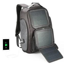 방수 이중 어깨 실외 비즈니스 트래블 솔라 에너지 노트북 컴퓨터 iPad 태블릿 PC 팩 백팩 백(CY5813)