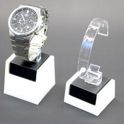 Acryluhr-Ausstellungsstand für Rolex Omega Casio