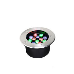 Светодиодный индикатор питания высокого уровня под водой для акцентного освещения парк бассейн квадратной фонтан фонари водонепроницаемые красочные 7Вт светодиодные фонари для подводной съемки бассейн