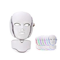 首マスクが付いているLEDのマスクの美機械