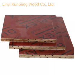La pellicola di bambù impermeabile di vendita diretta della fabbrica ha affrontato il compensato della costruzione