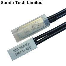 Температурный переключатель электродвигателя, обрезки, биметаллической пластины переключателя термостата