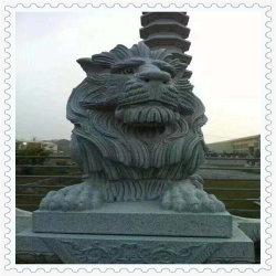 León estatua Talla Animal para el parque o jardín