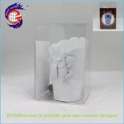3D Peinture métal intérieure de bricolage de Noël Bonhomme de neige modèle Décoration Pot