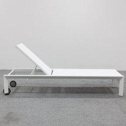 Bonito diseño de aluminio de Piscina, tumbona para Hotel