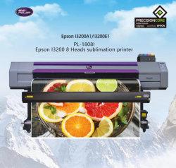 1,8M I3200 Digital Cabeças de Corte Flexível têxtil de poliéster de tecido de nylon dye sublimation máquina de impressão