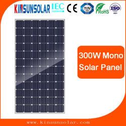 La alta eficiencia de Energía Solar Fotovoltaica Módulo monocristalino Mono 100W 150W 200W panel solar de 300W