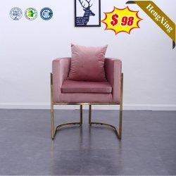 ピンクのネイルの椅子の古典的で強い生地の優雅な会議の学校 家具、ダイニングチェア
