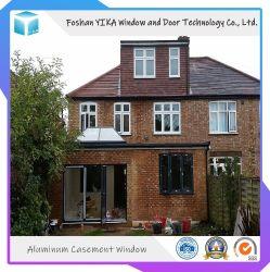 Американском стиле Villa Дизайн двойной закаленное стекло алюминиевая дверная рама перемещена окна