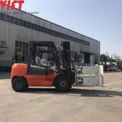China proveedor de equipos industriales de elevación de la carretilla elevadora abrazadera de rollos de papel