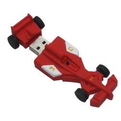昇進車USBのフラッシュ駆動機構、ゴム製PVC習慣