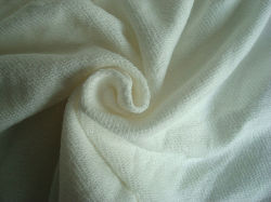 Le linge de maison Terry Tricot de coton pour les vêtements d'utiliser