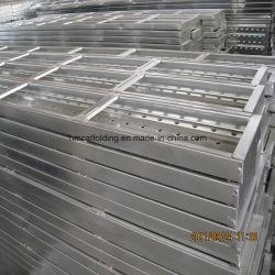 Fournisseur de Tianjin Catwalk Étage/tablier métallique feuille/planches d'Échafaudage utilisé pour la construction