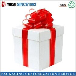 Kundenspezifischer quadratisches Papier-Geschenk-Kasten