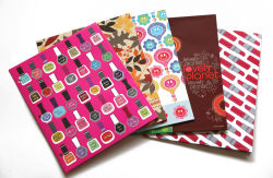 Cheap Twin Pocket Portefeuilles Dossier papier fait main