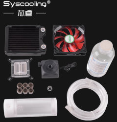 Syscooling flexibles Gefäß-abkühlender Installationssätze Nr. 2 Intel kupferner LED Fan-heißer Verkauf CPU-! ! ! !